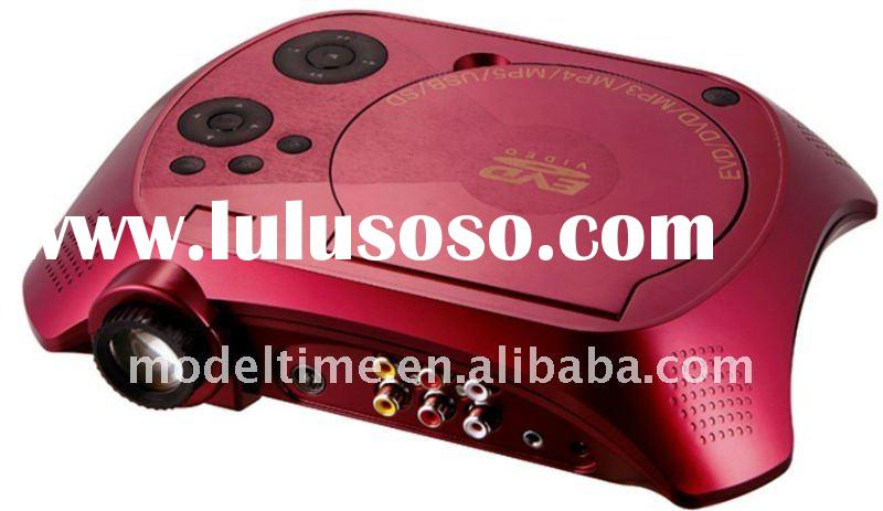 Home Theater Portable DVD Projector support TV game USB SD
