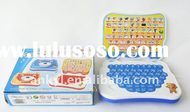 Notebook computer learning machine educational toy