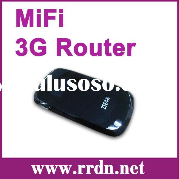 Original unlocked ZTE MF60,21Mbps Pocket Router/Mifi 3G router with high quality