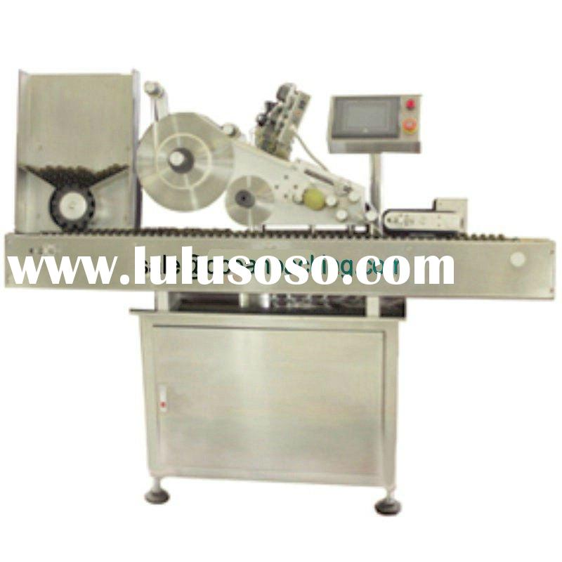 horizontal automatic vial labeling machine