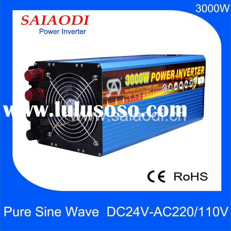 3000W DC to AC power inverter for commercial and home use