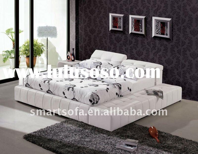 Bed,Leather bed,Furniture,Bedroom,Bedroom set,new classical bedroom