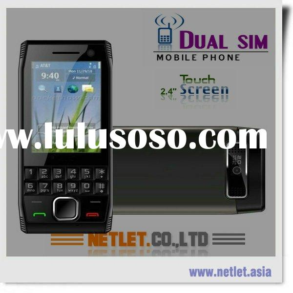 China newest High quality touch screen dual sim gsm mobile phone