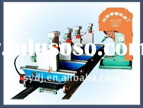 MJB3212D 1250mmSemi-automatic Carriage Woodworking Band Sawing Machine