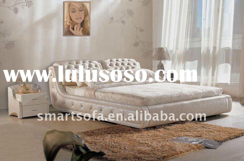 leather bed,bed,furniture,bedroom ,classical bed,new classical furniture