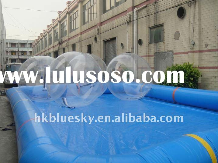 popular inflatable water ball and pool
