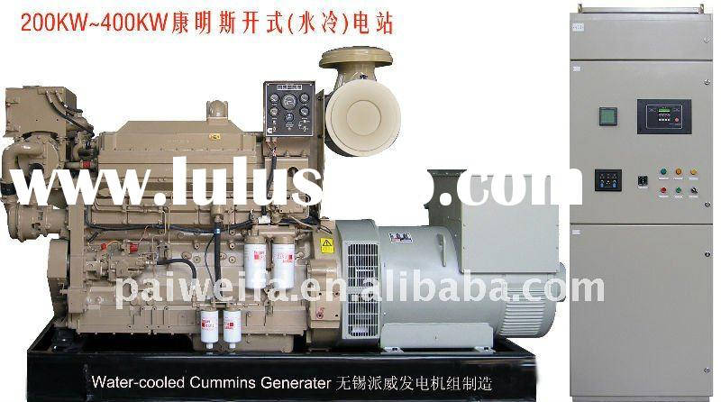 Water-cooled 400kw diesel generator set