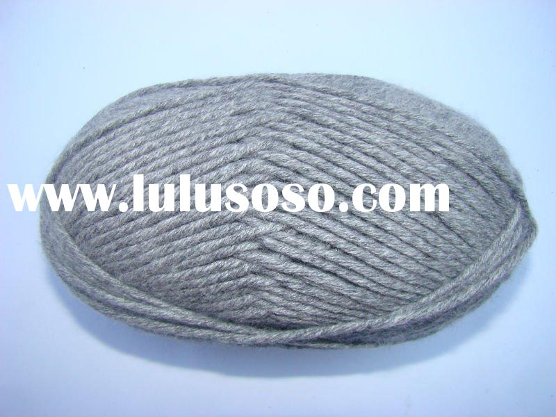 hand knitting angora wool yarn,blended worsted wool angora yarn dyed