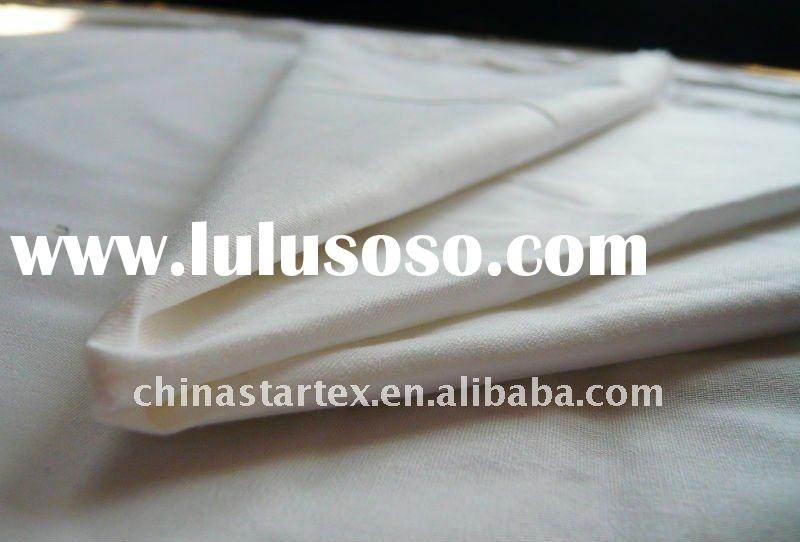 100% cotton twill downproof wide width fabric