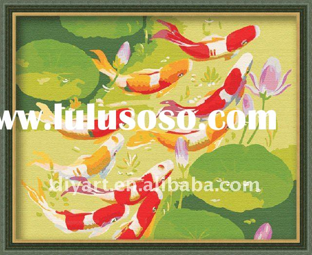 40*50cm Fish diy oil paint by numbers