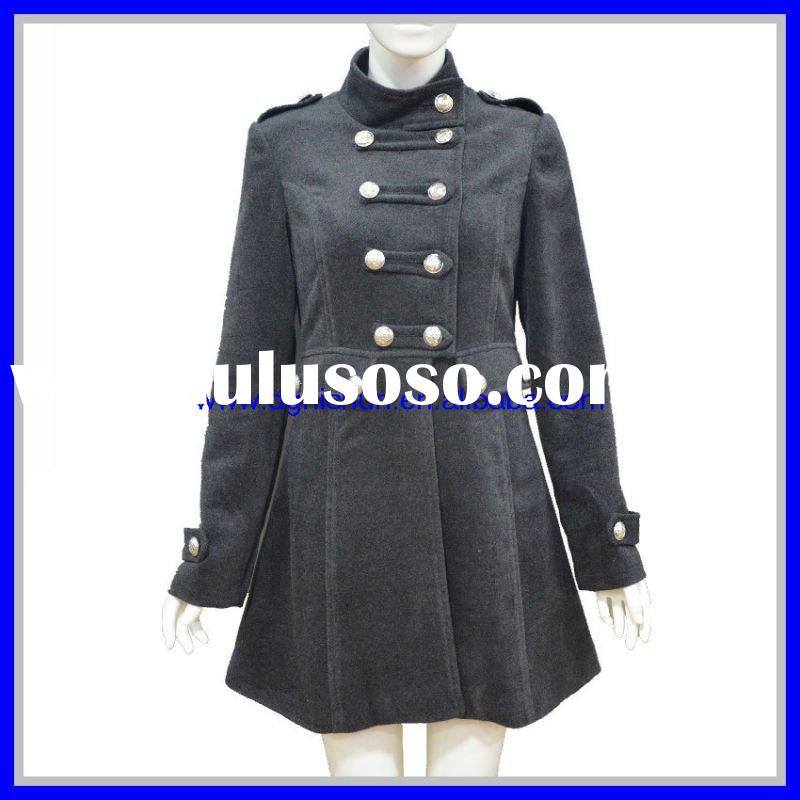 Fashion Lady's Long Coats And Jackets