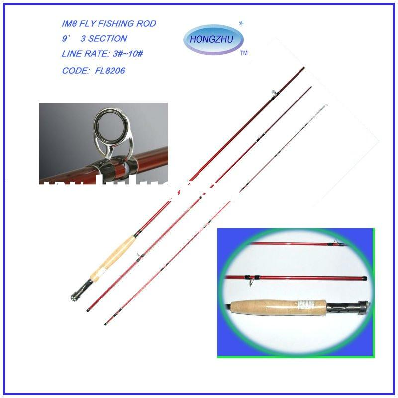 IM8 High Carbon Fly Fishing Tackle
