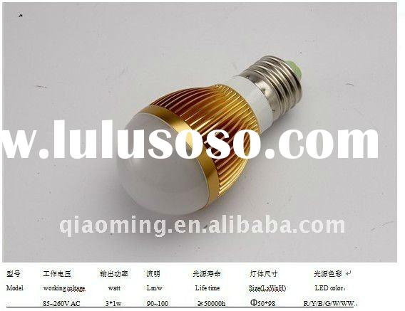 Low Power Consumption 3w Global LED Bulb light