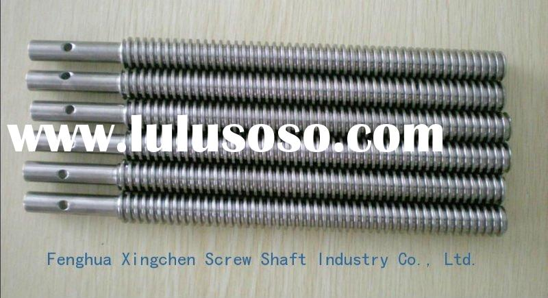 Trapezoidal carbon steel threaded rod