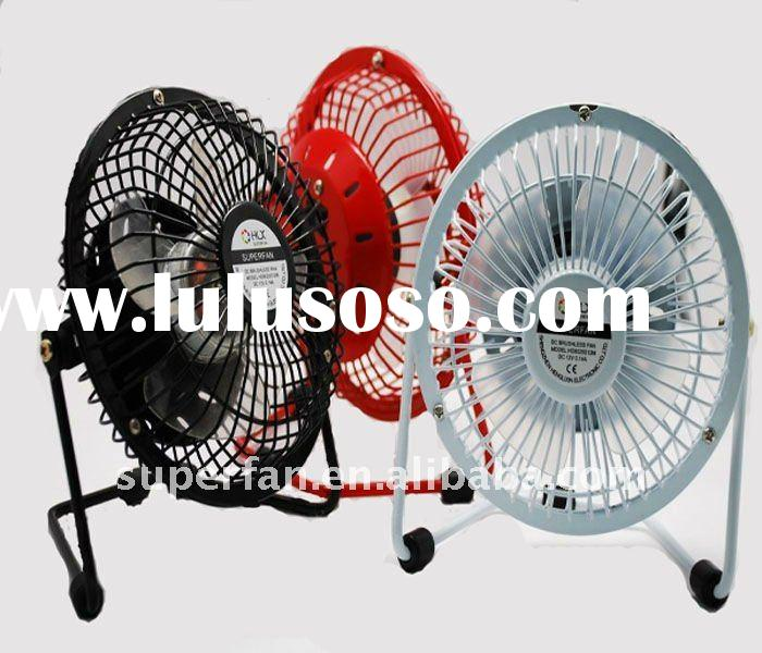 Usb super mini desk fan with different colors connect with laptop or pc for cooling