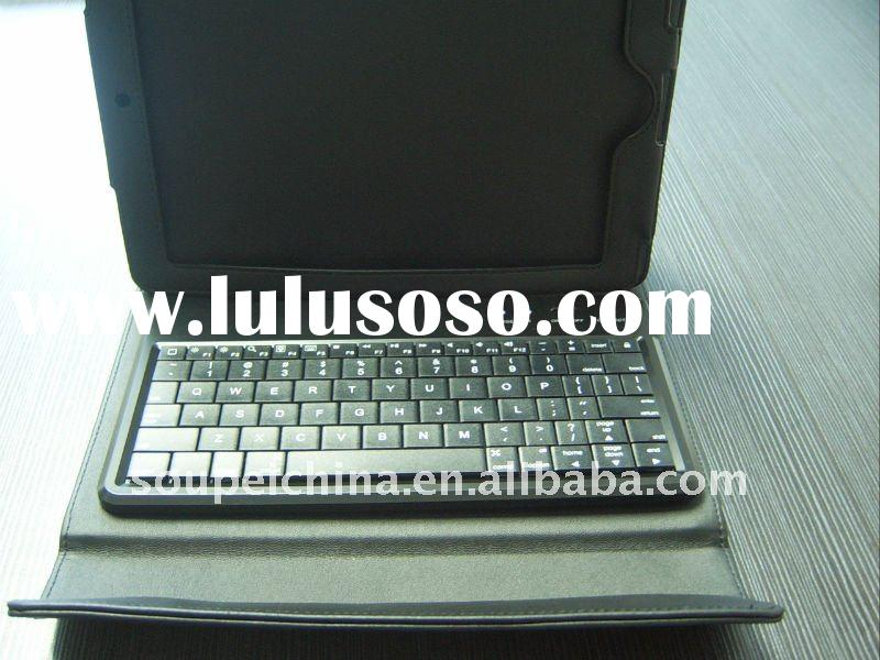 for ipad accessories,solar battery charger+ bluetooth keyboard case for ipad 2