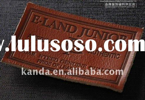 jeans leather label jeans leather patch