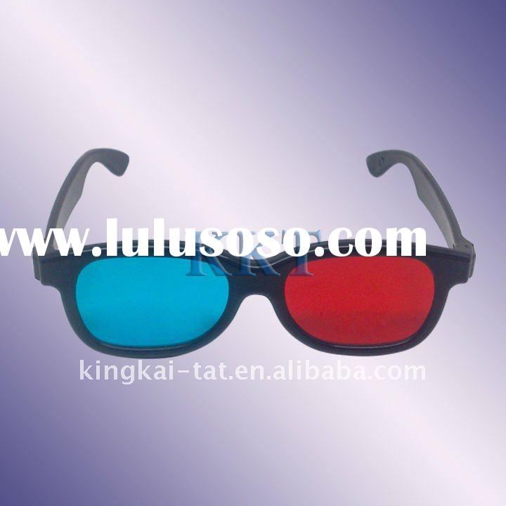 red cyan 3d stereoscopic glasses