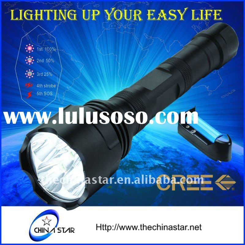 5 Cree LED rechargeable Tactical Flashlight Torch