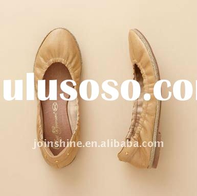 Hot sell-2012 spring summer women's ballet flat shoes, ballet flats