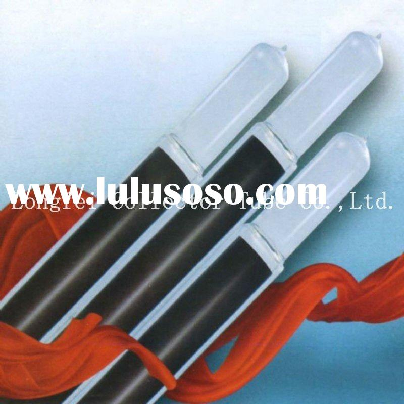 Solar evacuated tube for solar water heater, solar glass vacuum tube