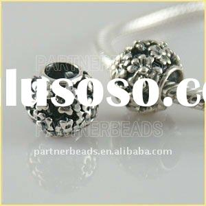 2011 Hot sale sterling silver charms for charm bracelets