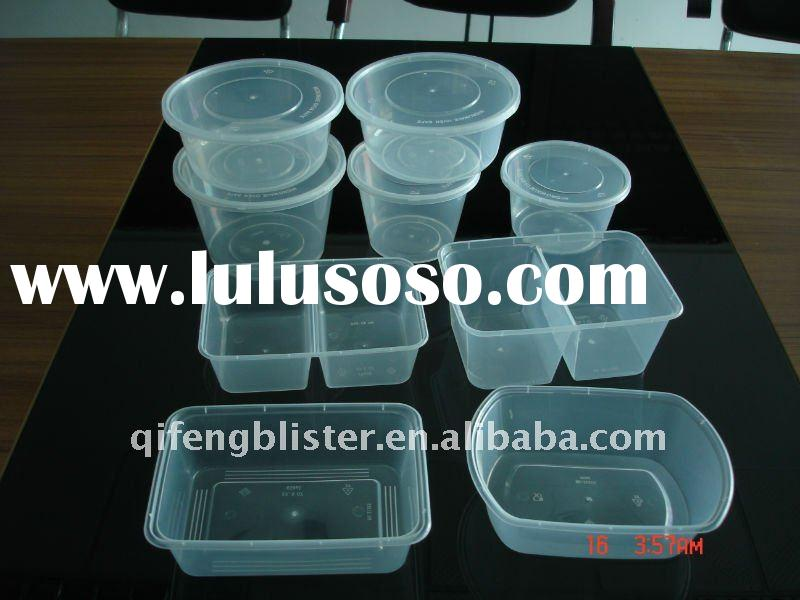 Best price for round and rectangular disposable plastic  food container