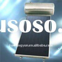Plate compact solar water heater