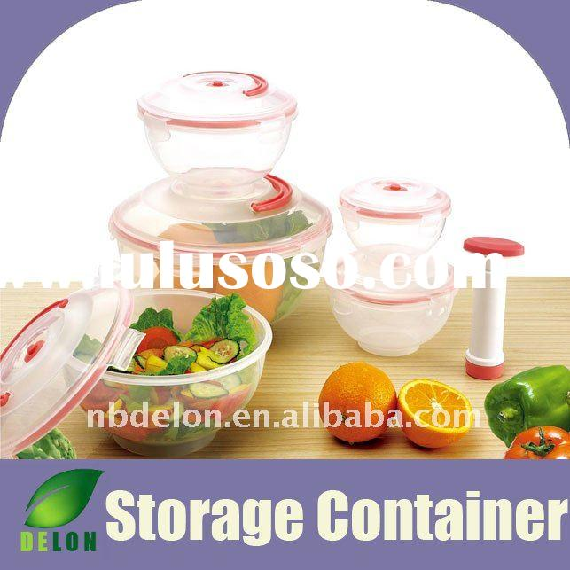 Vacuum food storage container