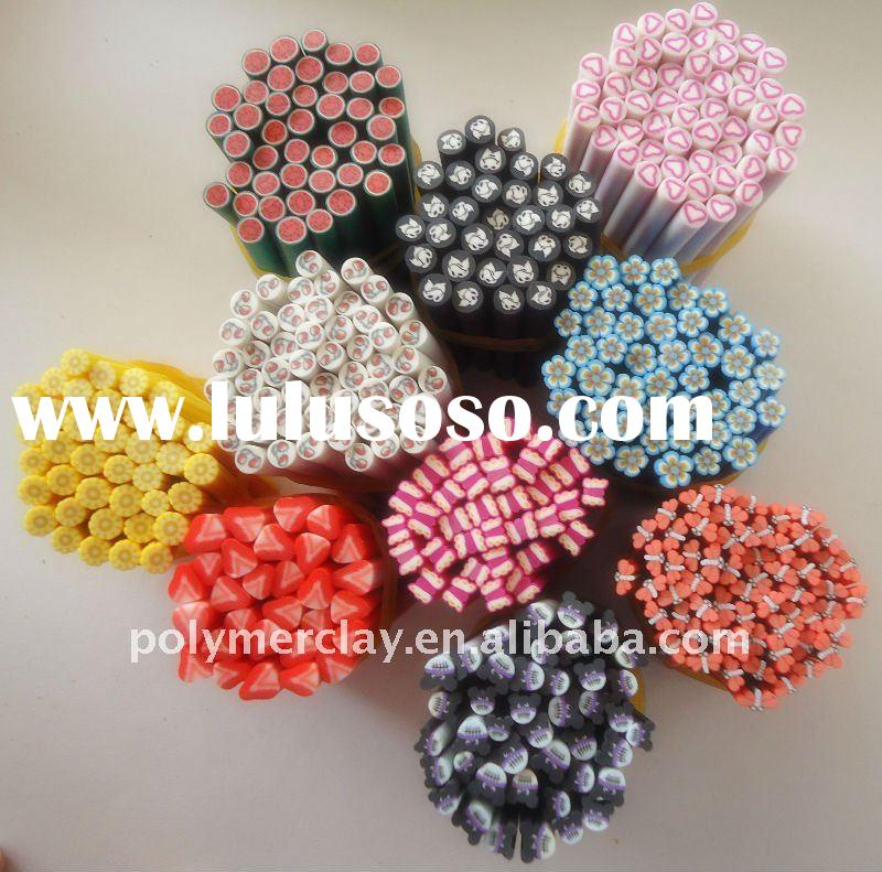 popular polymer clay nail art cane