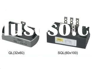 Three-phases Bridge Rectifier SQL350A with heatsink
