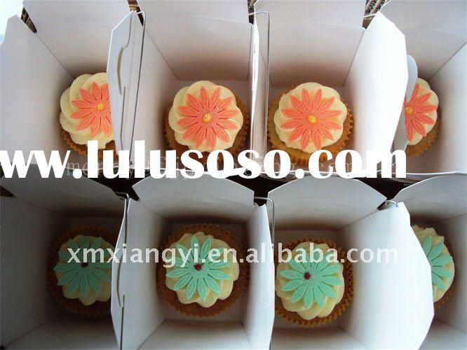 unique cupcake box with or without handle
