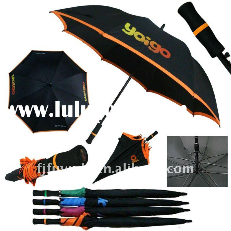 durable advertising golf umbrella
