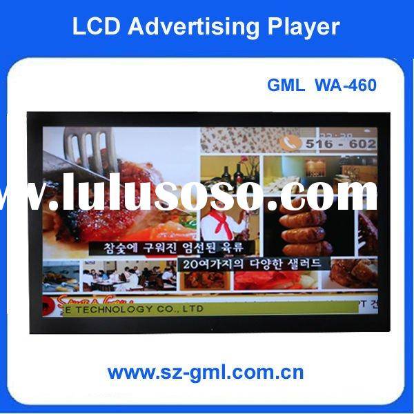 """46 inch Wall mounting LCD Advertising player(7-65"""")"""