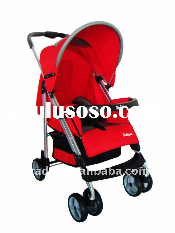 Mid-autumn providing double-tubed baby stroller for EU standard