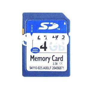 4GB SD card Memory card