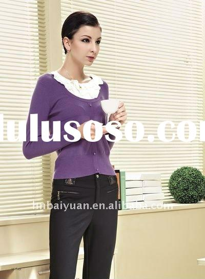 New Fashion Purple Knitted Sweater for Women