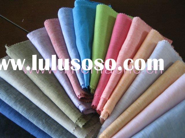 100% Linen Cloth Yarn-Dyed Chambray