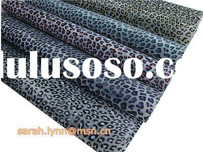 Leopard Texture Waterproof TPU Sheet For Shoe Material