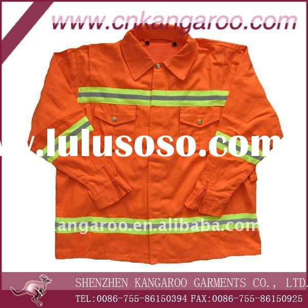 flame-retardant clothing/welder clothing/ welding services uniform/petrochemical fire service unifor