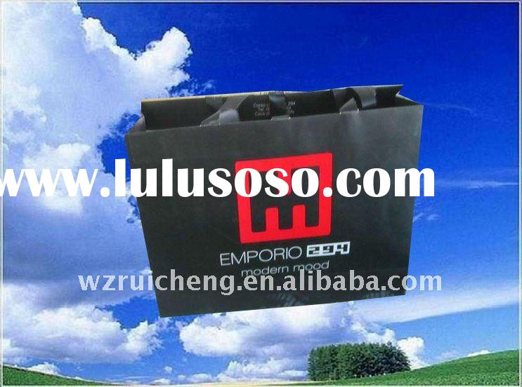 2011 Newly design lvory paper bag for high-classes