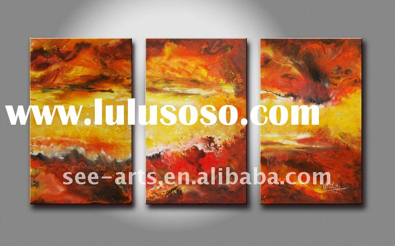 Contemporary Canvas Abstract Oil Painting Art