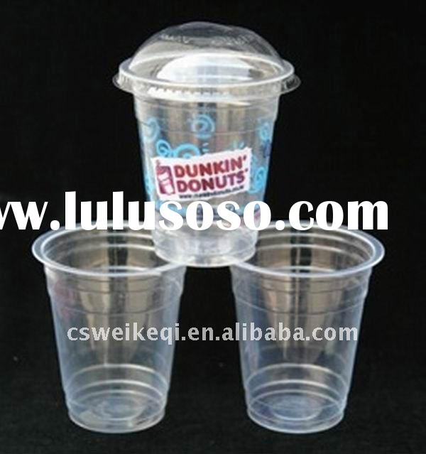 Disposable plastic cups/Disposable plastic cup with lid/disposable drinking cup