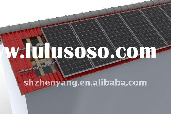 High efficiency lower price solar panel and solar mounting system with TUV and Product INSURANCE