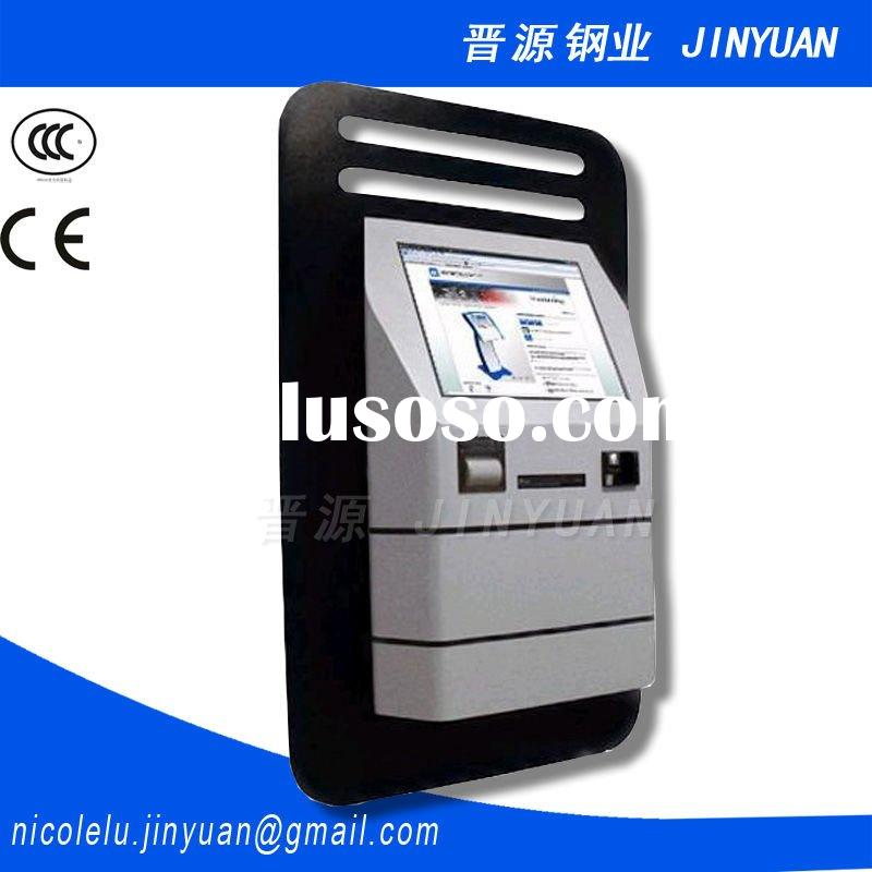 QM0004 sheet metal lobby type query machine cabinet, JINYUAN sheet metal fabrication OEM ODM