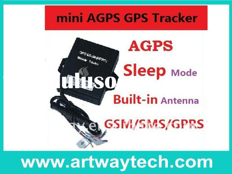 Smallest Mini GSM/GPS Vehicle tracker with inside antenna and backup battery cost effective with eas