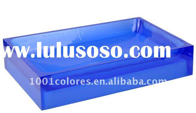 Square(60*40)-blue-resin basin
