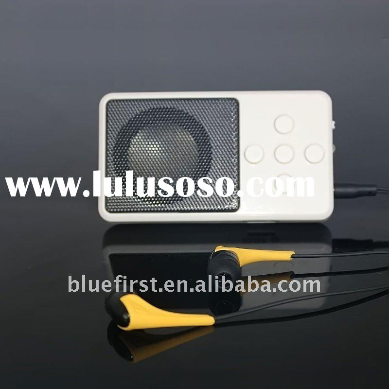 2011 newest wireless mini bluetooth speaker with FM
