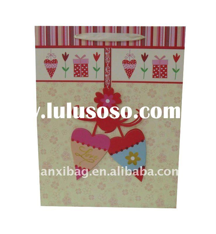 New  paper bag for Valentine's day 210gsm /157gsm any size