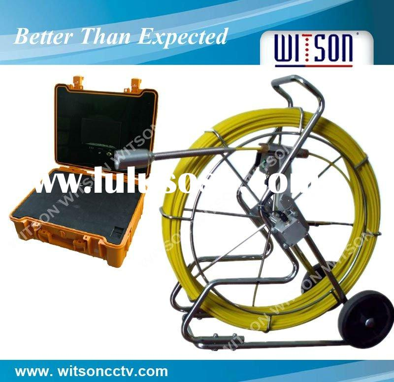 Pipe inspection camera with 120-meter cable for pipe sewer inspection